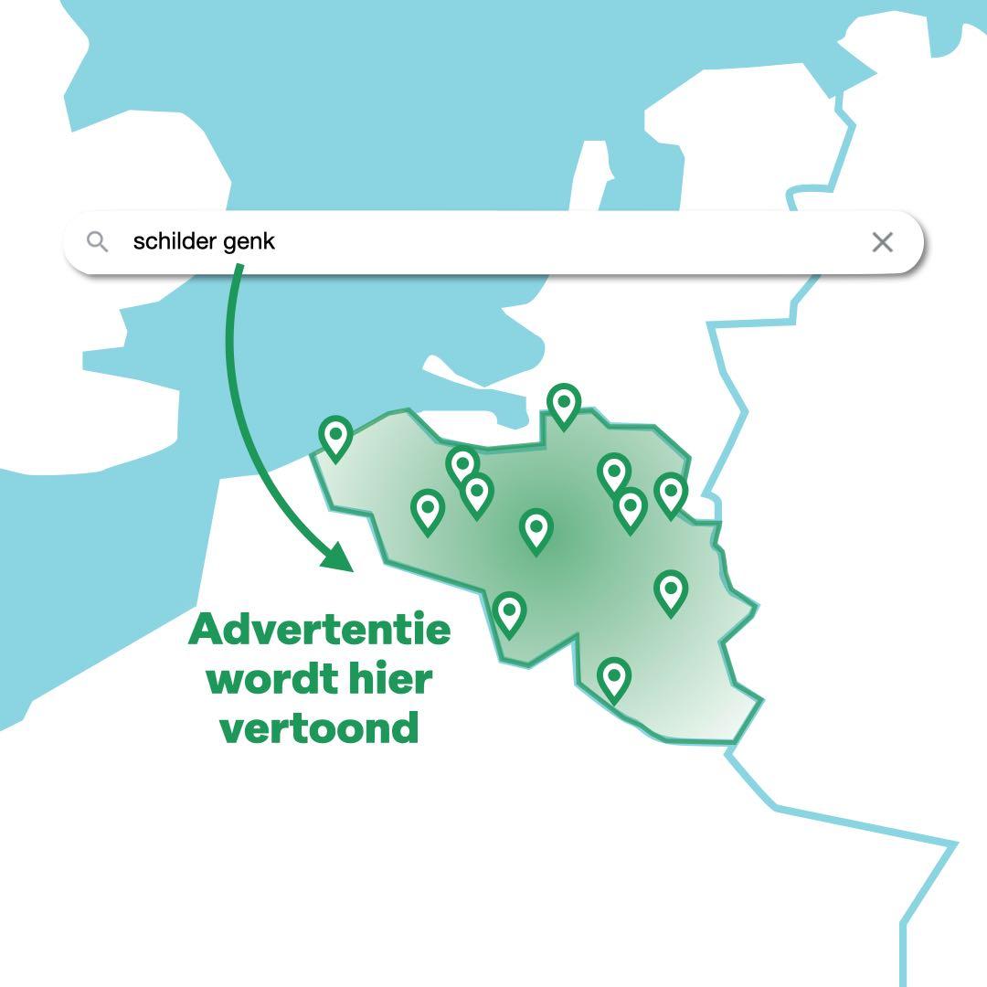 Keyword met locatie